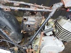Suzuki TS125J Project Field Bike