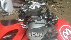 Suzuki TS125R Tsr 125 Engine gearbox crank cylinder barrel powervalve clutch