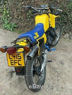 Suzuki TS125X tsx125 Classic uk bike