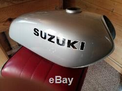 Suzuki TS185 /125 petrol/gas tank 1970s New Old Stock NOS custom bobber tracker