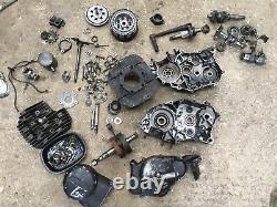 Suzuki TS185 ER TS 185 Engine Parts Crank Gears Barrel Casings Oil Pump Etc