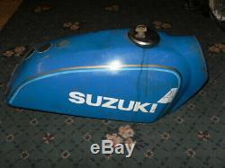 Suzuki TS185 Model C Fuel Tank Spares Repair Cap and Key Solid C07
