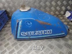 Suzuki TS185 TS 185 1980-1981 Fuel Petrol Gas Tank With Cap & Key