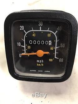 Suzuki TS185ER Speedo Speedometer TS250ER TS125ER TS100ER TS50 ER SP DR TS Nos
