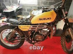 Suzuki TS250 77 78 79 Original exhaust TS 250 B