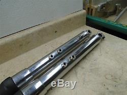 Suzuki TS250 TS400 TS185 AHRMA Used Front Forks Fork Pair 70s GP #SB109