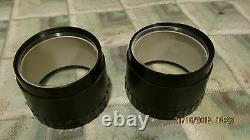 Suzuki TS250 TS400 a pair of new Speedo and Tacho outer clock bodies