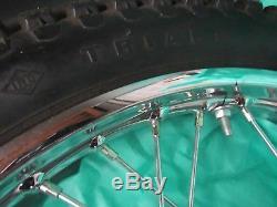 Suzuki TS250 front wheel assy 1970