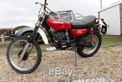 Suzuki TS250A 1976