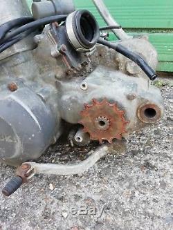 Suzuki TS250X ENGINE WATERCOOLED BARN FIND