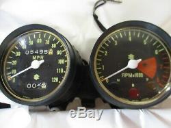 Suzuki TS400 TACHOMETER SPEEDOMETER ASSY 1972-1975
