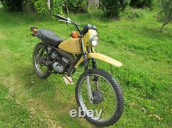 Suzuki TS50 ER 1970's Trail bike 80cc big bore