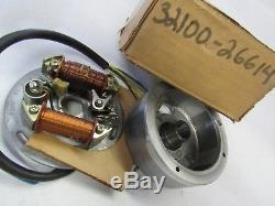 Suzuki TS50 TS75 NOS STATOT MAGNETO ASSY