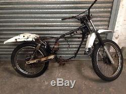 Suzuki TS50 X Rolling Chassis For Spares Repair Classic Frame