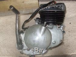 Suzuki TS50 engine with carburettor