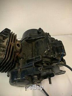 Suzuki TS50X TS50 Engine