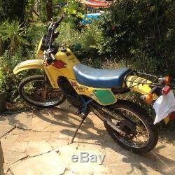 Suzuki TS50X TS50 trials moped 16 lerner