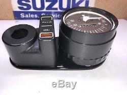 Suzuki TS75,100, RV90 Speedomoter Assy. NOS. 34100-25027, 34100-25022 KM/h