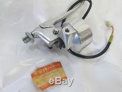 Suzuki TS75 nos front brake lever assy 1975-1977 57300-26610