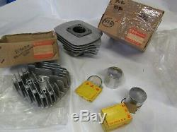 Suzuki TS90 NOS CYLINDER AND PISTON SET FROM HOP UP KIT