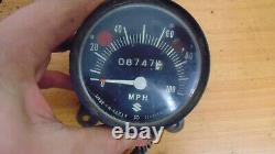 Suzuki Tc Ts 250 185 Speedometer Odometer Clock With Single Mount Bracket Enduro