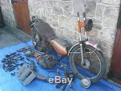Suzuki Ts 125 1972 Vintage Classic Restoration Job Lot Motorcycle Parts