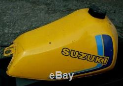 Suzuki Ts 125 Erz Petrol Fuel Tank Very Good Condition 1983