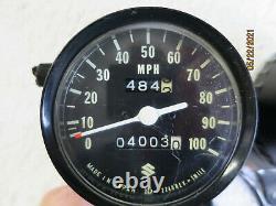 Suzuki Ts-185 Ts 185 Compltete Speedo + Tach + Mt Plate Operation Verified