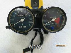 Suzuki Ts-400 Complete Instrument Cluster Both Units Operations Verified