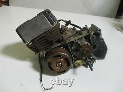 Suzuki Ts 50 Xk / FT Bj. 79 Motor With Alternator And Clutch Engine
