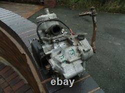 Suzuki Ts125 Complete Engine Motor Crankcase Crank Gearbox Kickstart