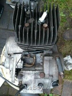 Suzuki Ts125 Engine Complete 73 74 75 76 77 Throttle Cable