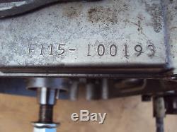 Suzuki Ts125 Engine Ts