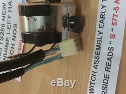 Suzuki Ts125 Tc125 Ts185 Ts250 Handle Switch Pt 57700-25600 S/s 57700-28643 New