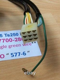 Suzuki Ts125 Tc125 Ts185 Ts250 Nos Handle Switch Assembly New Pt No 57700-28643