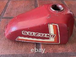 Suzuki Ts125 Ts125 Er 1980 1981 1982 1983 Fuel Tank Genuine Japan
