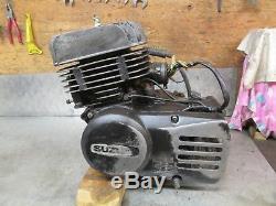 Suzuki Ts185 Ts185er Ts 185 1981 Engine