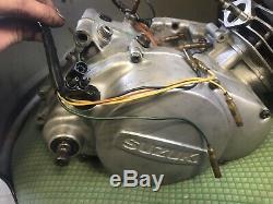 Suzuki Ts185m 1975 Engine Complete