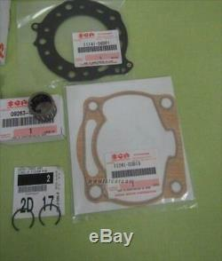 Suzuki Ts200rk Ts200rl Sh12a Top End Repair Set 12140-08d13-000 12110-08d04-0f0