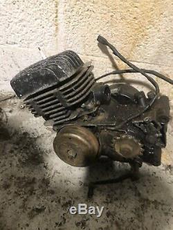 Suzuki Ts250er Engine Removed From Running Bike