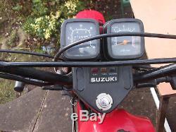 Suzuki Ts50 Er 1980's Motorcycle