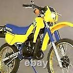 Suzuki Ts50 X Air Cooled. Rear Tyre #1 (web-stock)(a=sk) Breakers(con-d)