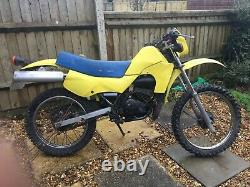 Suzuki Ts50x 50cc 1997 Moped Trials Style Runs Well V5c Excellent Project