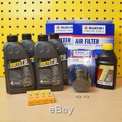 Suzuki VZR 1800 Serviceset Öl Original Ölfilter Luftfilter NGK M1800 R Intruder