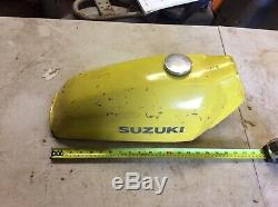 Suzuki sp rm ts185 steel Petrol fuel tank