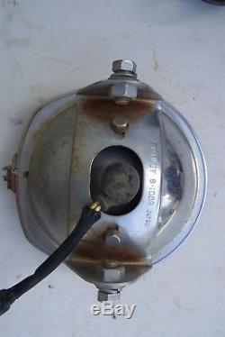 Suzuki tc headlight ts headlight headlamp (tested working condition) vintage