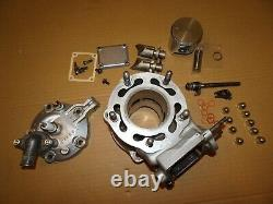 Suzuki ts 125 r tsr barrel head exhaust power valves ready to go
