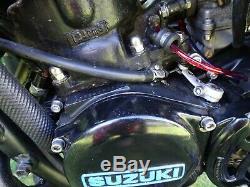 Suzuki ts 125 x tsx bike restored