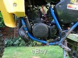 Suzuki ts 125 x tsx vintage classic enduro bike