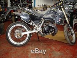 Suzuki ts 50 ts50 rmx50 2 stroke liquid cooled engine code A109